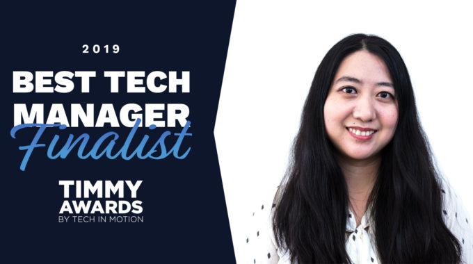 Insiten's Huiqi Zhou Nominated For 2019 Timmy Award